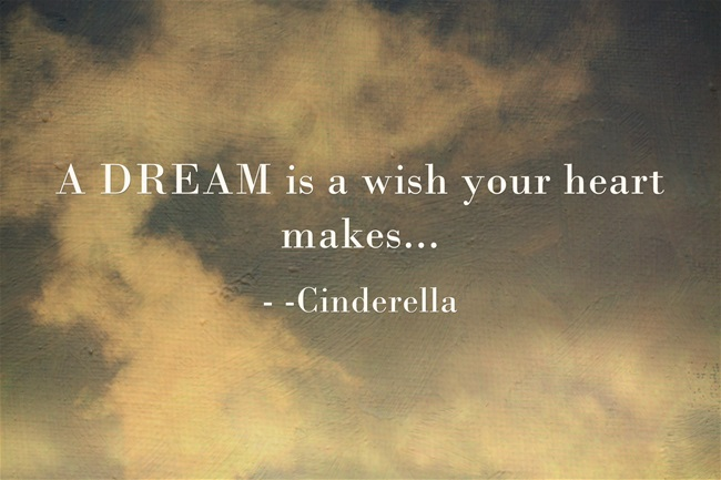 A-DREAM-is-a-wish-your Cinderella