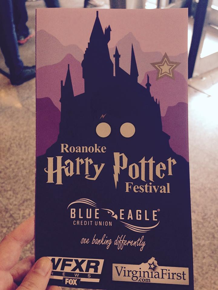 roanoke harry potter festival program